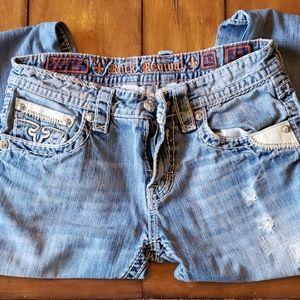 Rock Revival Liam Straight Men's Jeans